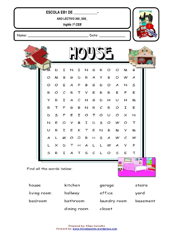 Ld p 1 house word search Find a house