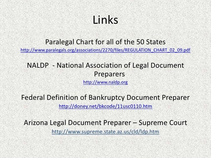 ldp presentation With bankruptcy document preparer