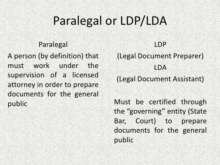 LDP Presentation - Legal document assistant