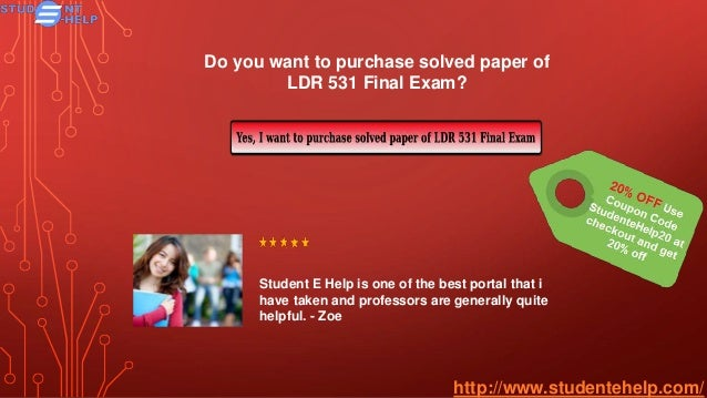 ldr 531 organizational leadership final exam answers Ldr 531 leadership style paper, ldr 531 motivation plan, ldr 531 organizational leadership final exam, ldr 531 uop course tutorial, ldr 531 uop study guide, ldr 531 week 2, motivation plan ldr 531 admin 1 job dissatisfaction and antagonistic relationships with coworkers predict a variety of behaviors organizations find.