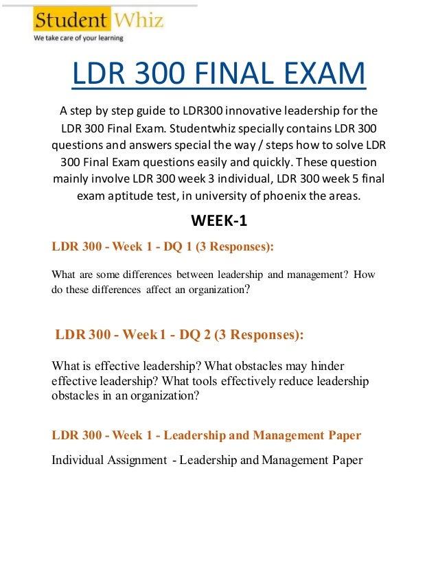 Leadership Theory to Practice Final Exam Leadership