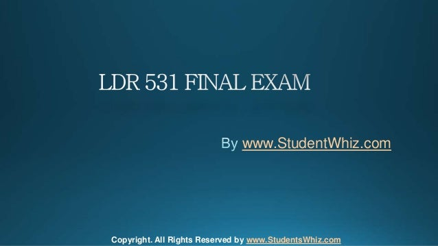 final exam answers