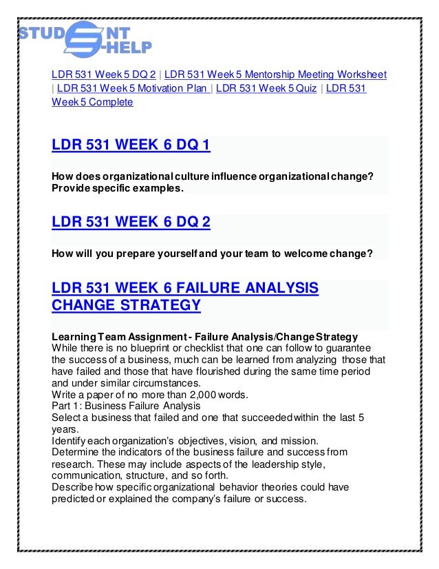 ldr 531 week 3 paper creating a plan for positive influence How would you react when a team member is being vague and trying to spin bad news to sound more positive,  plan paper this tutorial was  1 ldr 531 week 3.