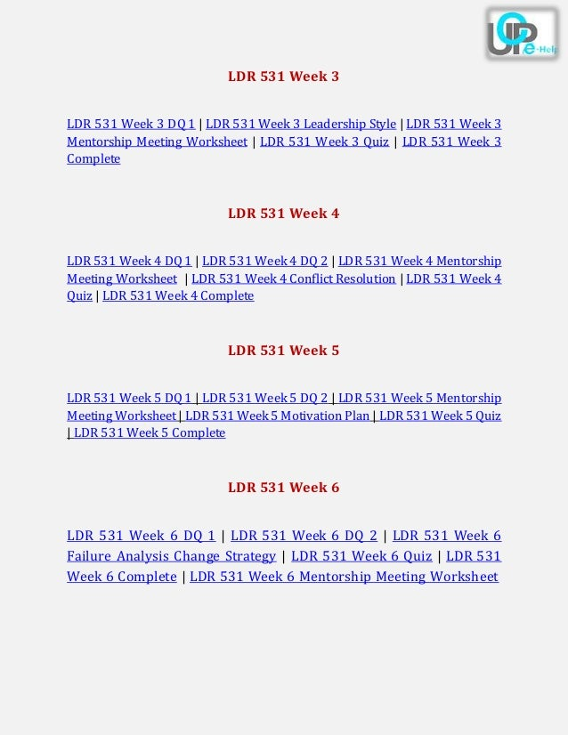 ldr 531 week 3 dq 3 Ldr 531 week 3 barriers of effective communication to purchase this tutorial visit following link: .