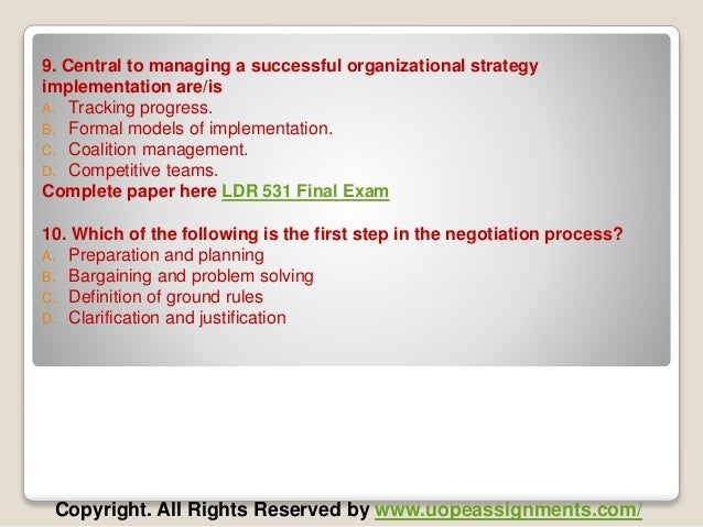 HRM 531 Final Exam Latest UOP Complete Class Assignments - PowerPoint PPT Presentation