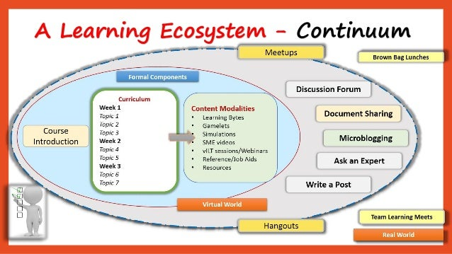 A Learning Ecosystem -Continuum