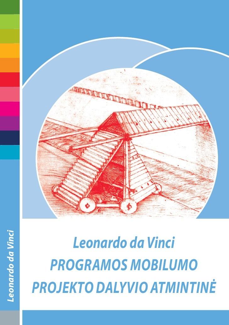 Leonardo da Vinci                              Leonardo da Vinci                       programos mobiLumo                 ...