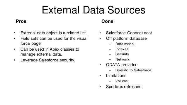 Large Data Volume Salesforce experiences
