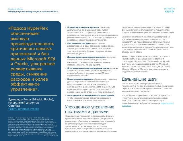 Краткий обзор Общедоступная информация о компании Cisco • Логические зоны доступности повышают доступность в больших клас...