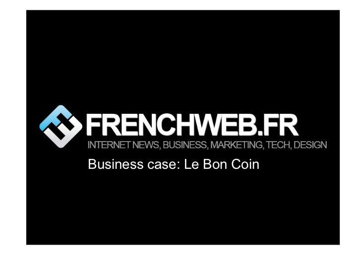Business case: Le Bon Coin