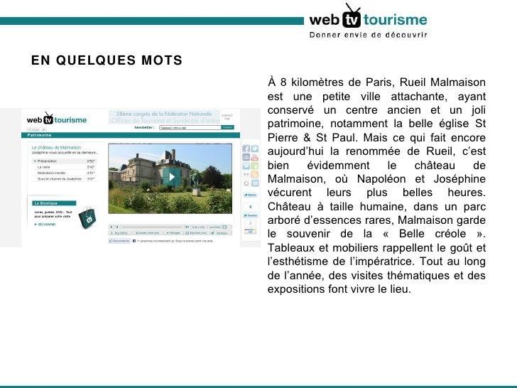 Le château de Malmaison Joséphine vous accueille en sa demeure... Slide 2