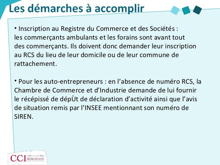 Le Commerce Non Sédentaire - Cci De Bordeaux