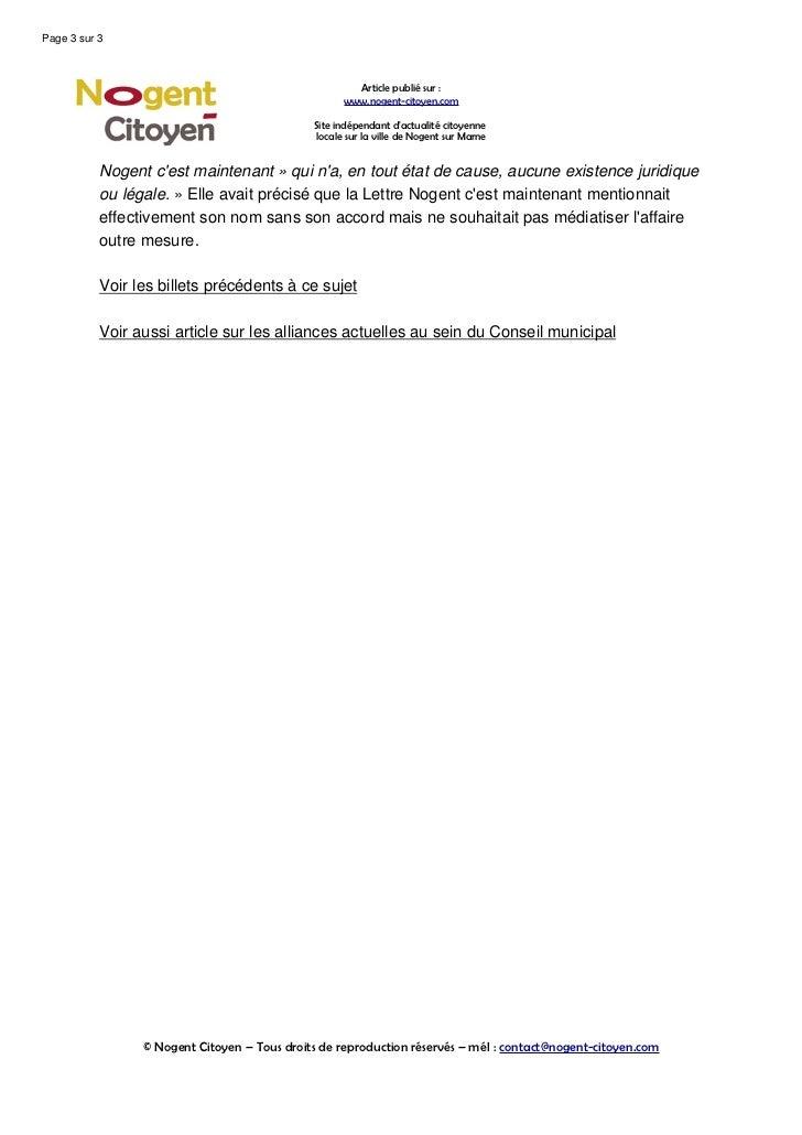 Le conseil-municipal-de-nogent-degenere-en-algarade Slide 3