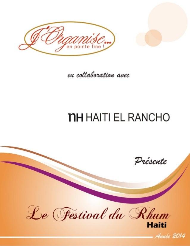 Le Festival du Rhum d'Haïti Page 1