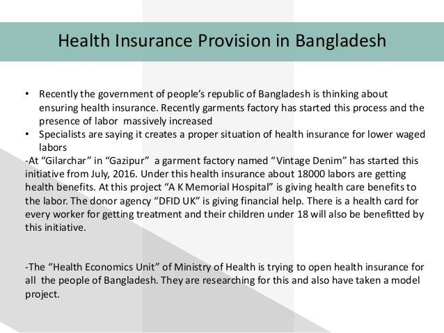 insurance in bangladesh Established in 1985 as the first general insurance company in private sector, bgic has since developed substan.