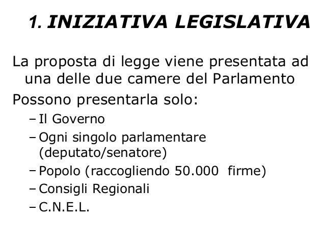 Le fonti del diritto for Le due camere del parlamento