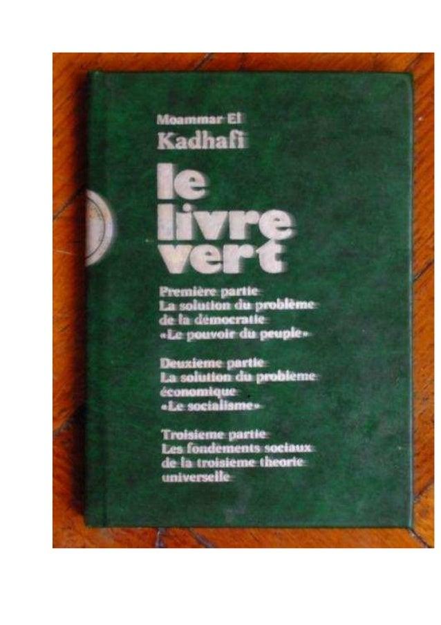 Le livre-vert-de-mouammar-kadhafi Slide 1