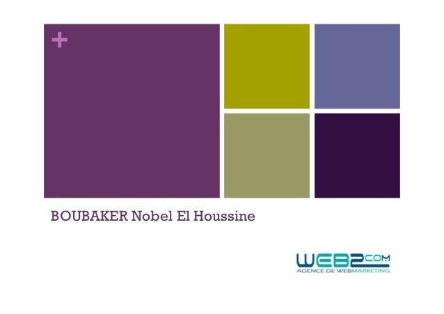 +BOUBAKER Nobel El Houssine