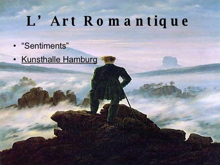 Dissertation Sur Le Romantisme | Etudier