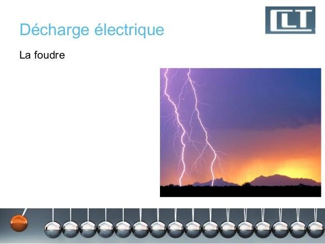Décharge électriqueLa foudre