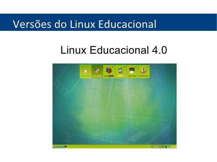 4.0 EDUCACIONAL BAIXAR DESKTOP LINUX