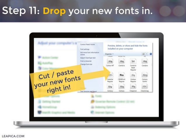 How To Use Custom Google Fonts In Powerpoint