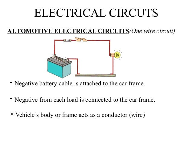 Leacture 8 electrical systems