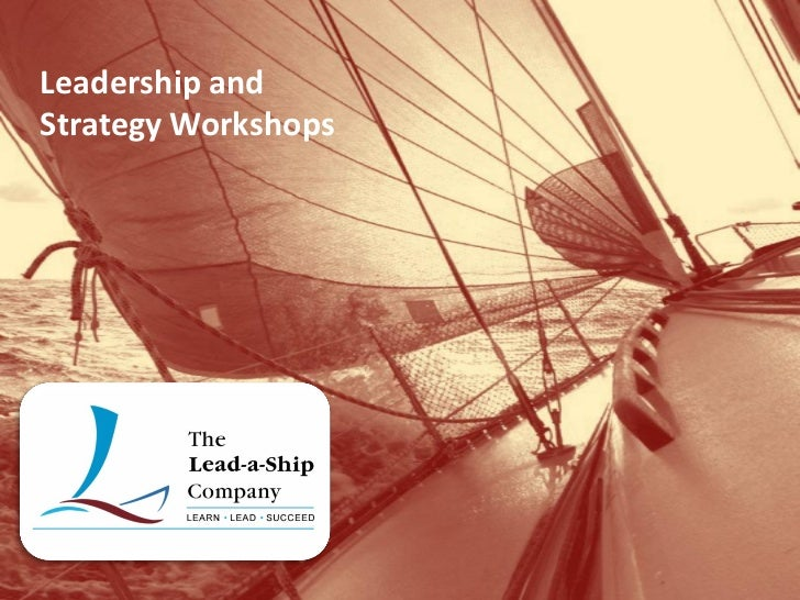 Leadership andStrategy Workshops
