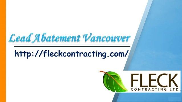 Lead Abatement Vancouver