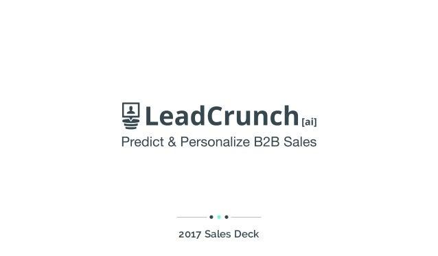 2017 Sales Deck