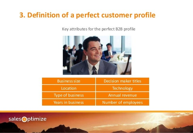 Lead Definition Knowing Your Perfect Customer Profile