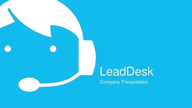 LeadDesk Company Presentation