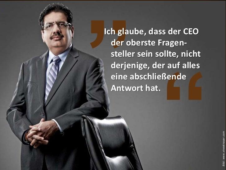 Was würde geschehen, wenn unser Unternehmen überhaupt keinen CEO mehr hätte?                       Bild: www.vineetnayar.com