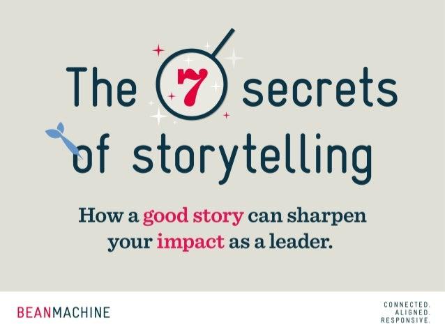 Goede leiders zijn goede verhalenvertellers - Hans Donckers - Beanmachine