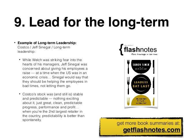 10 Big Ideas From: Leaders Eat Last by Simon Sinek