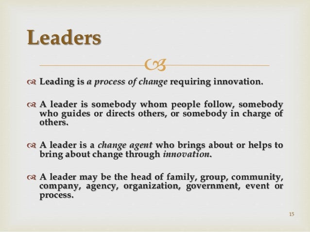leading and managing change in clinical The clinical leadership competency framework making change actually happen takes leadership health and social care needs excellent leadership and management.