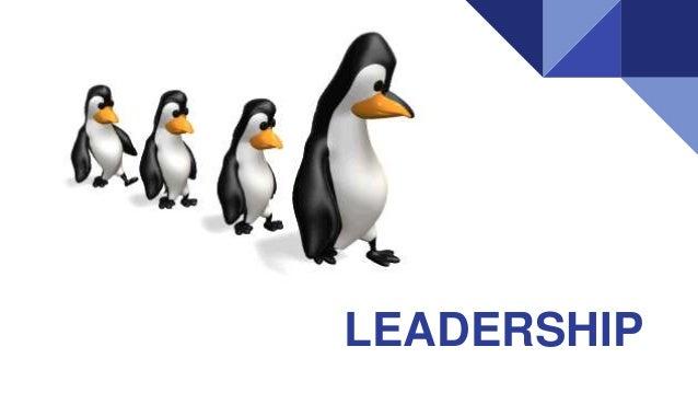 Leaders and leadership styles