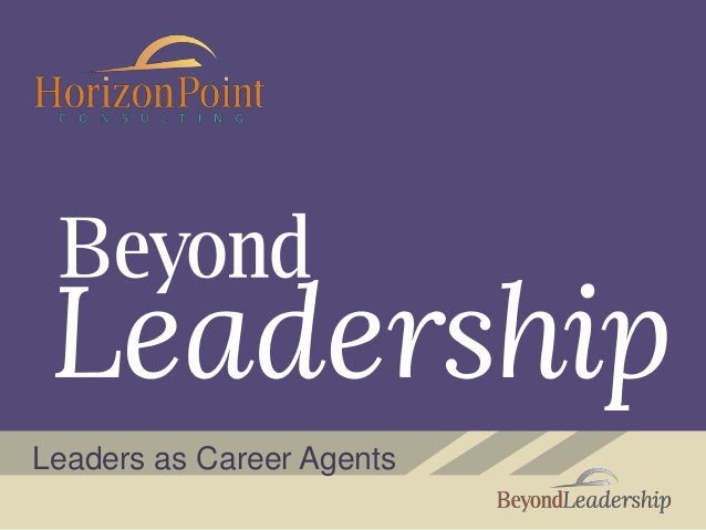 Leaders as Career Agents