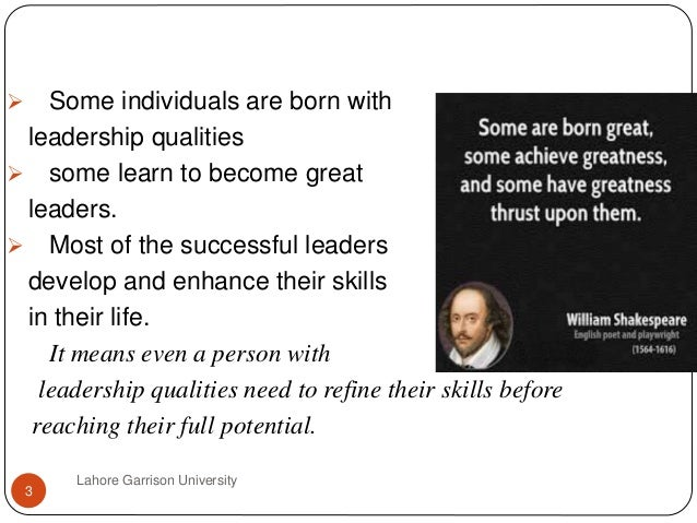 becoming a great leader essay Lesson 1: what makes a leader print email students will identify characteristics of leadership by researching the lives of great american leaders objective.