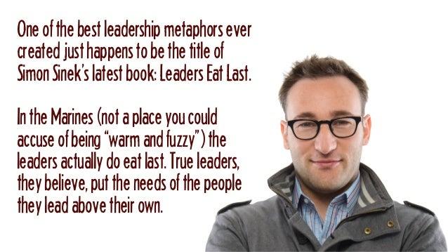 Today's 60-Second Book Brief: Leaders Eat Last by Simon Sinek Slide 2