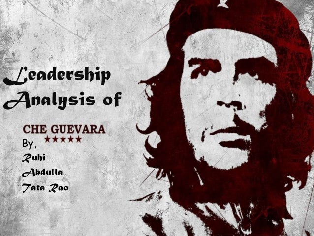 The role of Che Guevara in the cuban revolution Essay Sample