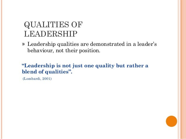 qualities of team leader in bpo