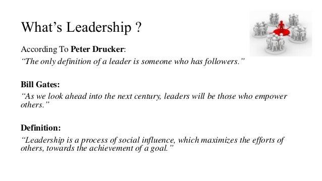 Leadership- Organizational Behavior
