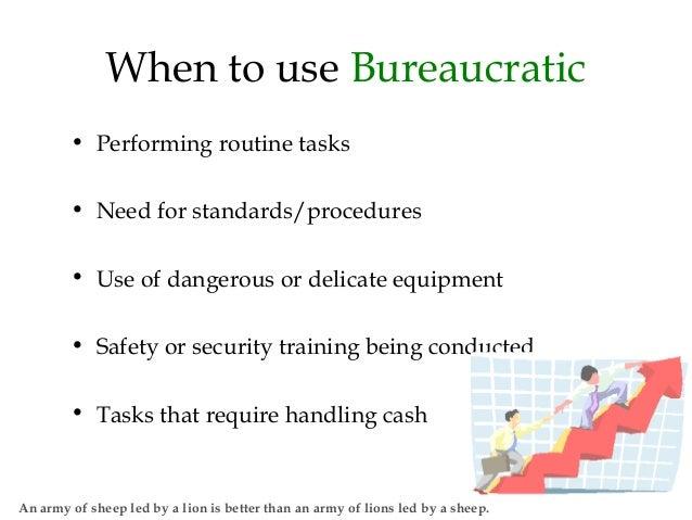 post bureaucratic leadership