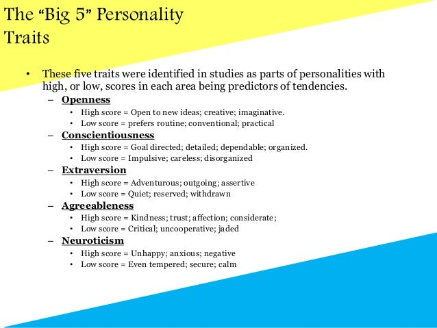 Incorporating Personality Traits in Hiring: A Case Study ...