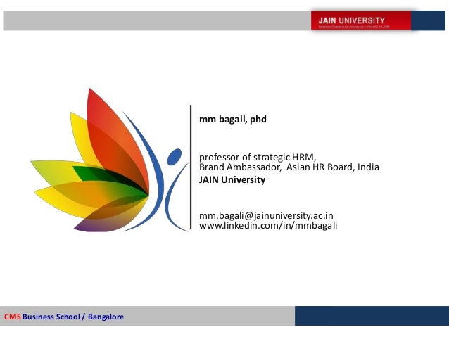 Phd thesis in hrm
