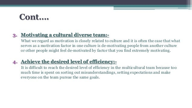an analysis of leading cultural diversity An institutional cultural self-audit and swot analysis allow you to clarify what the organization is doing to provide culturally competent care and determine which.