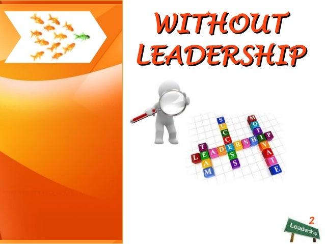 LEADERSHIP Slide 3