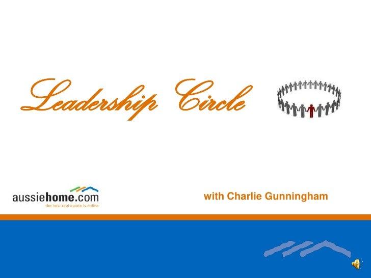 Leadership Circle<br />with Charlie Gunningham<br />