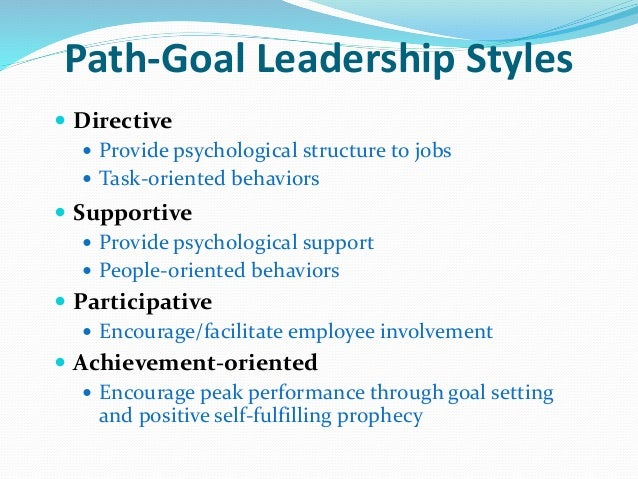 achievement oriented leadership style Joe paterno as a supportive leader joe paterno is a strong example of the supportive leadership style achievement-oriented leadership is a.